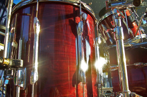 Close Up of Drums